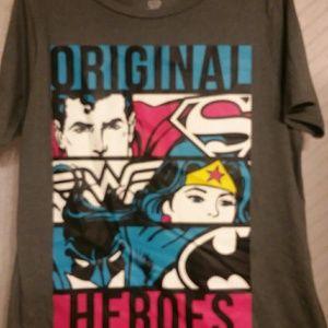 DC Comics T-shirt Super Heroes